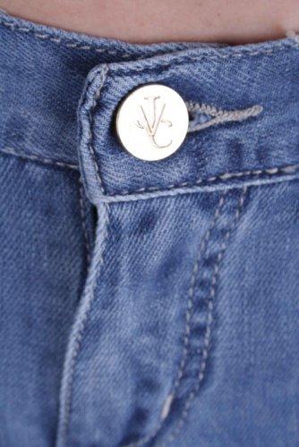 VERSACE VJC pantalon jeans pour femmes BLEU BLEU W25 - W31 #5