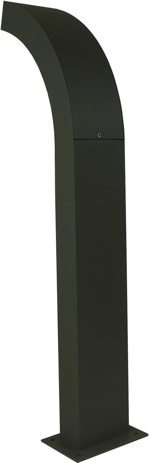 300 LM Aluminium 230 V LED Standleuchte Wegleuchte Geh/äusefarbe: Dunkel Grau. 4,5 Watt f/ür Innen und Au/ßen geeignet 6x LED Standleuchte 3000 K 60 cm Lichtfarbe: warm weiss H/öhe ca Bitte w/ählen Sie die gew/ünschte