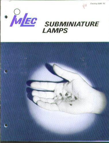 - ImLec Subminiature Lamp Catalog SML-70