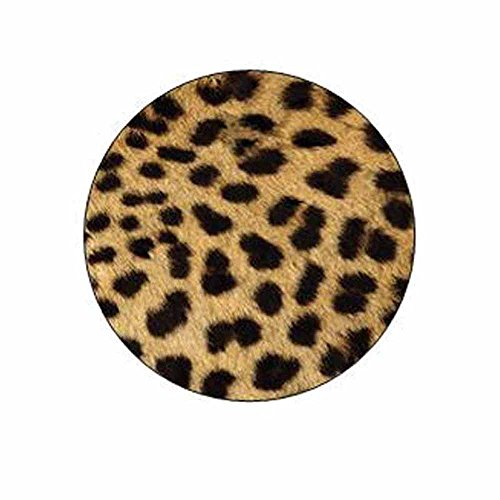 Cheetah Print Stickers - Gift Bag or Envelope Seals - Animal Theme Stationery Design - Party Favor Supplies - Set of 24