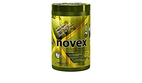Amazon.com : Embelleze Novex Hair Body Builder Treatment Cream - 14.1 Oz | Embelleze Novex Repositor de Massa Creme de Tratamento Capilar - 400 g : Beauty