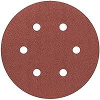 Bosch Professional 2608605721 Hoja de Lija, Rojo, 150