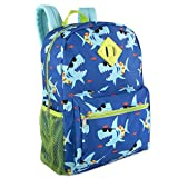 Boy's 6 in 1 Backpack Set With Lunch Bag, Pencil Case, Bottle, Keychain
