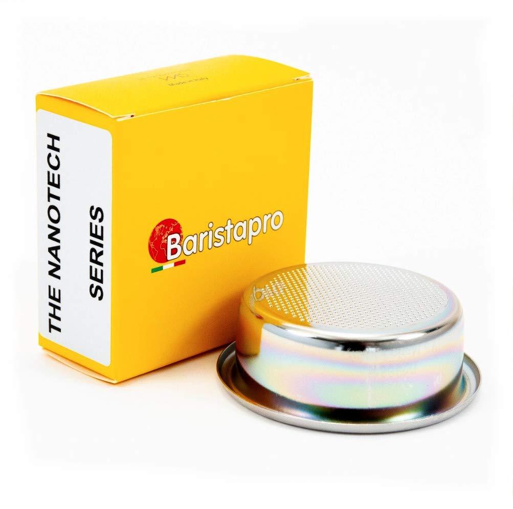 IMS Baristapro Nanotech Precision Ridgeless Double Portafilter Basket - 18 gram