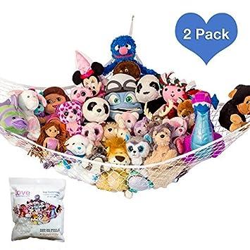 Amazon Com Lillys Love Stuffed Animal Storage Hammock Large Pack