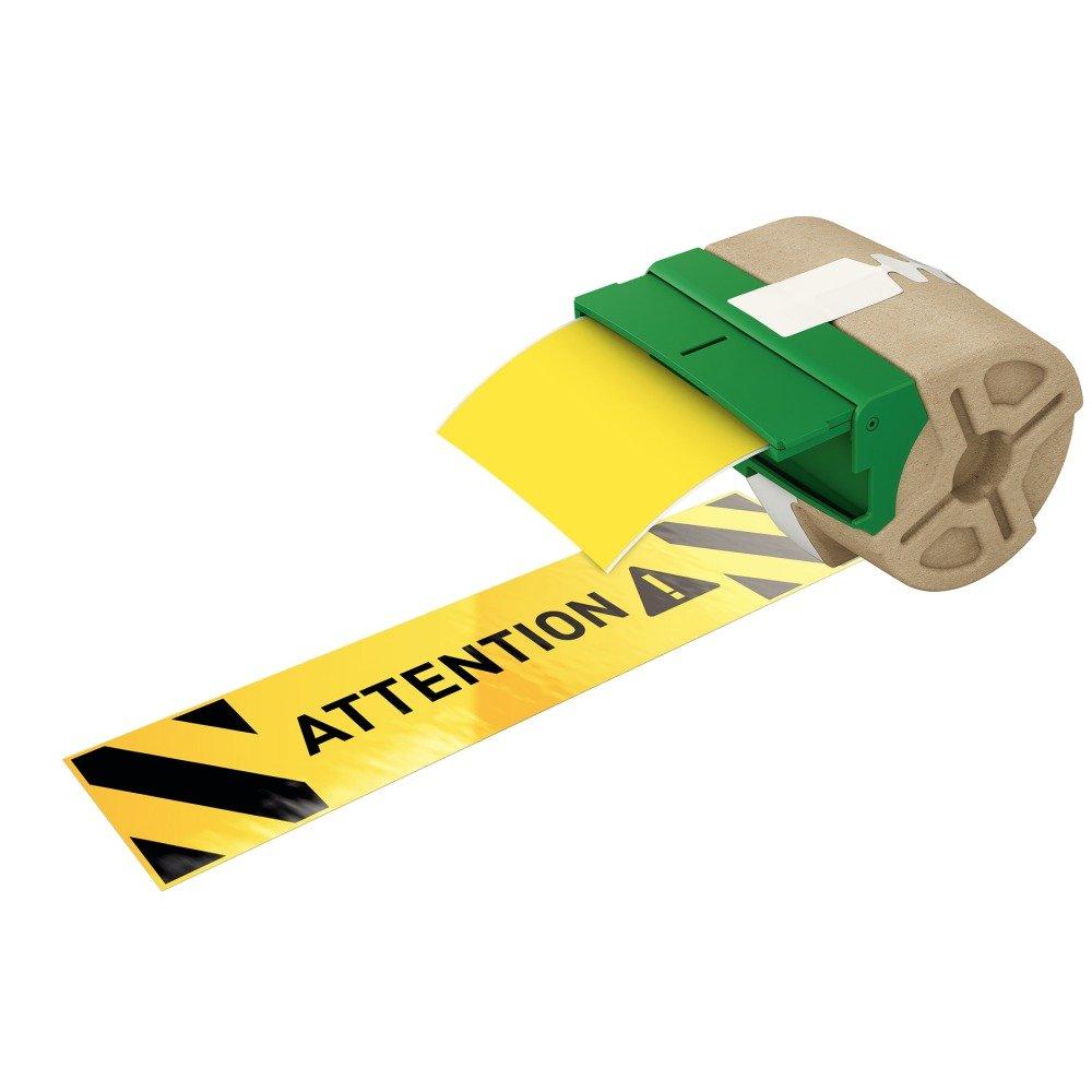 gelb Plastik 88 mm x 10 m permanent klebend Leitz 70160015 Endlos-Etikettenkassette Icon