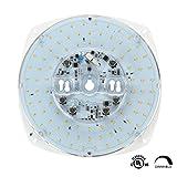 Silverlite 8.5'' LED Retrofit Kit Light Engine for Ceiling Fan Light,Flush Light,Pendant,Lantern and Garden light,40W,5000K,3500LM,120V,CRI80,Dimmable,10.2'' Corner to Corner,UL Listed