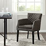 Madison Park FPF20-0277 Rochelle Quilted Dining Chair