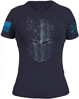 product image for Grunt Style Blueline Crusader Women's T-Shirt - USA Made