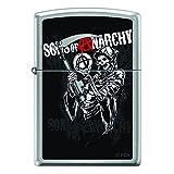 Zippo Lighter Acciaio Inox (Edelstahl) motivo Sons of Anarchy