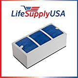 3 Pack Replacement Filter for Surround Air Multi Tech XJ-3000 Series Air Purifier by LifeSupplyUSA