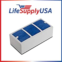 10 Pack Replacement Filter for Surround Air Multi Tech XJ-3000 Series Air Purifier by LifeSupplyUSA