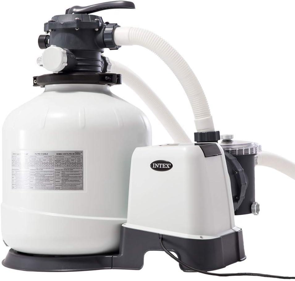 Intex 26652 - Depuradora de arena Krystal Clear 12.000 litros/hora 16