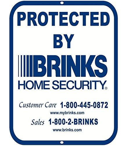 1 Pcs Ideal Popular Aluminum Signs Business Video Surveillance 24 Hour Warning Metal Decals Colors Blue Size 9