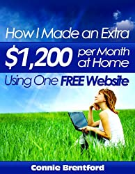 How I Made An Extra $1200 Per Month At Home Using One Free Website
