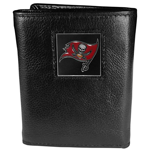 NFL Tampa Bay Buccaneers Genuine Leather Tri-fold Wallet