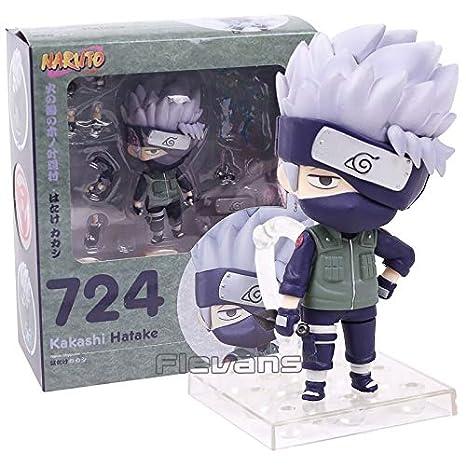 Amazon.com: Fallhuoz Naruto Hatake Kakashi 724 - Figura de ...
