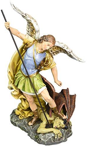 Renaissance Collection Joseph s Studio by Roman Exclusive St. Michael The Archangel Defeating Satan Figurine, 12-Inch