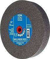 """PFERD 61780 Bench Grinding Wheel, Aluminum Oxide, 12"""" Diameter, 2"""" Thick, 1-1/2"""" Arbor Hole, 46 Grit, 2070 Maximum rpm"""