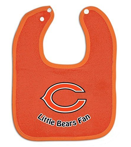 WinCraft NFL Official Chicago Bears Orange Baby Bib Chicago Bears Infant Apparel