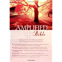Amplified Bible, Bonded Leather, Black