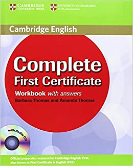 Complete First Certificate Workbook with Answers and Audio