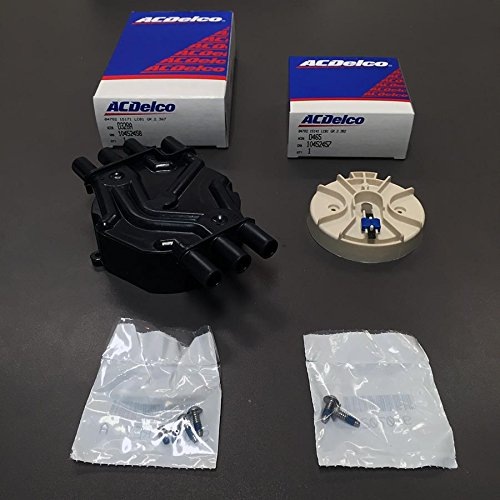 AcDelco GM Distributor Cap (D328A) And Rotor (D465) Kit Vortec-6 Ac Delco Distributor Rotor