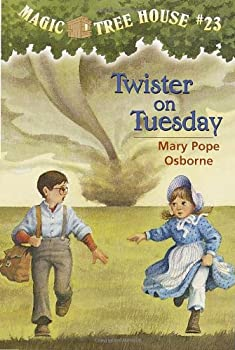 Twister On Tuesday (Magic Treehouse, #23) 0679890696 Book Cover