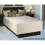 Fully Assembled Orthopedic Back Support Long Lasting 10 Mattress and Box Spring Set