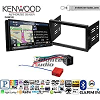 Volunteer Audio Kenwood DNX874S Double Din Radio Install Kit with GPS Navigation Apple CarPlay Android Auto Fits 1996-2000 Hyundai Elantra, 1995-1998 Sonata