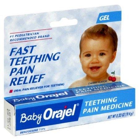 Bébé Orajel Teething médecine