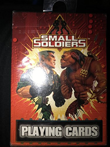 Rare Small Soldiers Deck of Playing - Soldiers Cards Playing