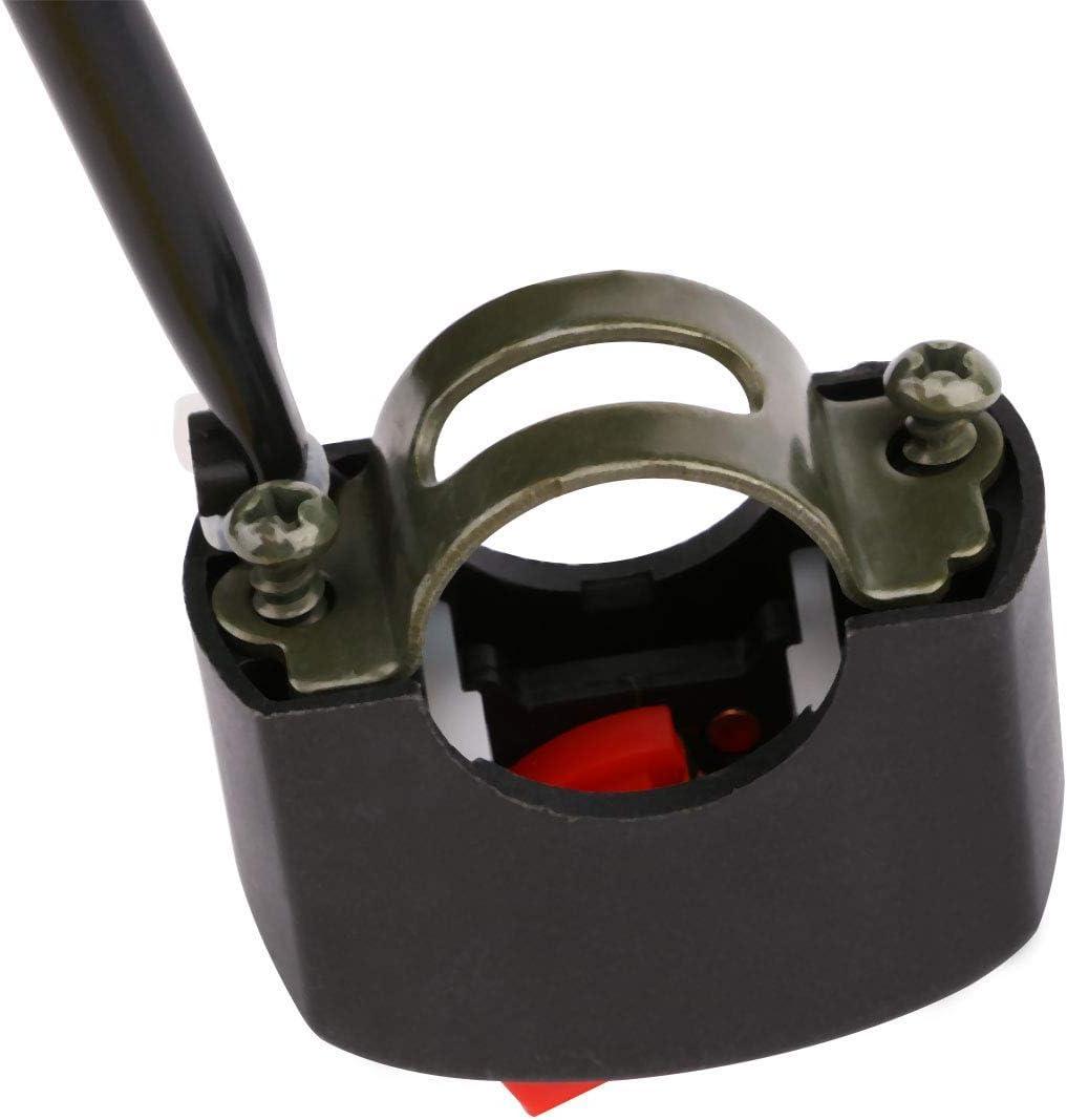 Gebildet 2pcs 22mm Universal Motorrad-Tuning-Teil Handle Schalter,ON//Off Schalter Motorrad Lenker Schalter