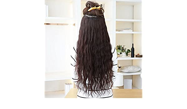 Amazon.com: Kinky Curly hair Brown wigs Hair Extension Afro peluca for black women synthetic wig natural hair cosplay perruque: Beauty