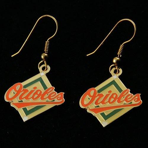 Orioles Charm Baltimore - aminco MLB Baltimore Orioles Dangle Logo Earring Set Charm Gift