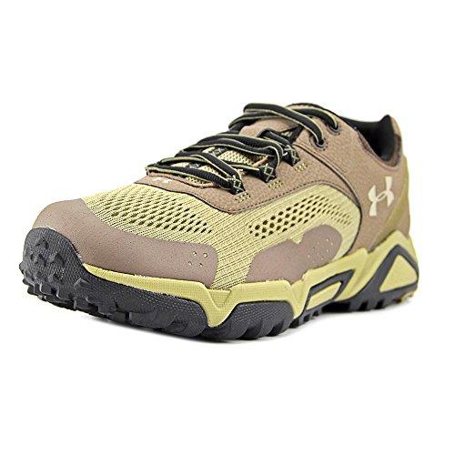 Under Armour Glenrock Low Hombre US 10 Beis Zapato de Senderismo Uni-Bch-Des