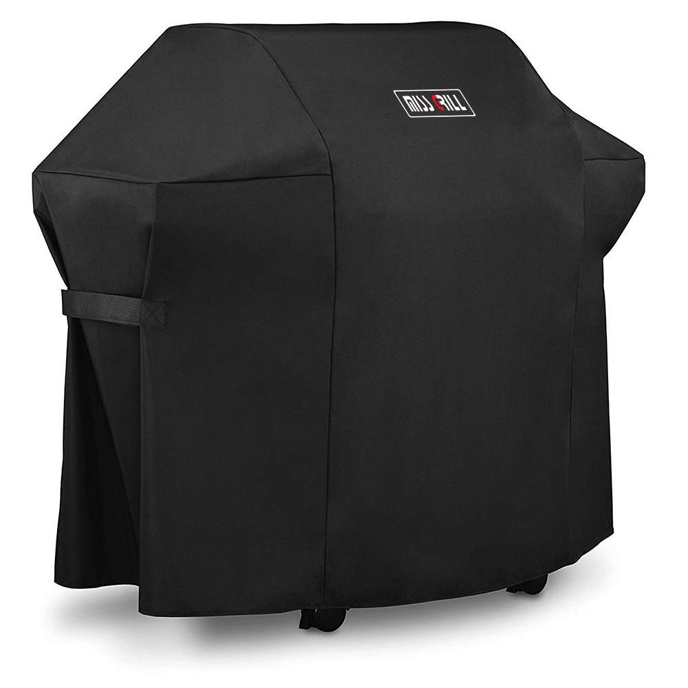 DallasCover Grill Cover 7106 Cover for Weber Spirit 200 and 300 Series Gas Grill (Compared to 7106),52 x 43-Inch Heavy Duty Waterproof & Weather Resistant Outdoor Barbeque Grill Covers by DallasCover