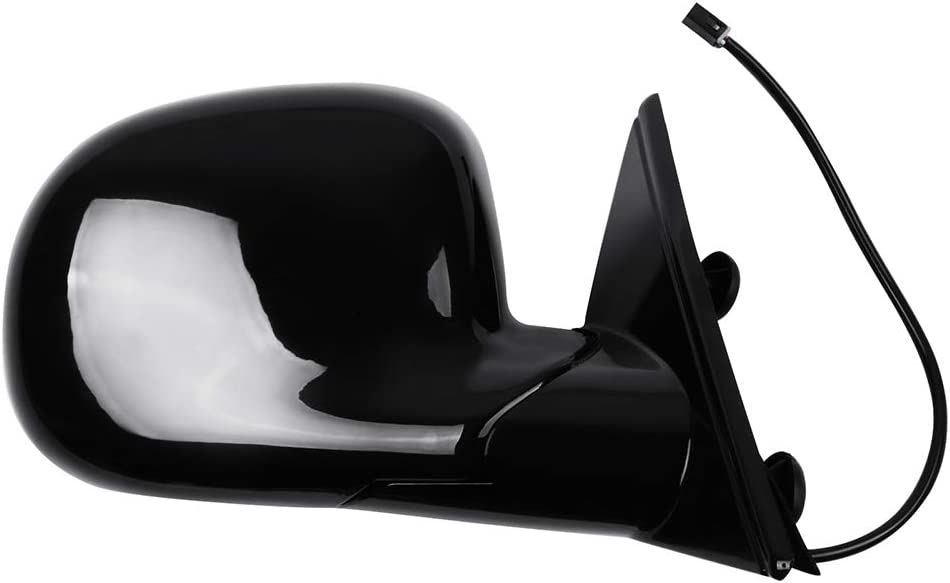 SCITOO Side Mirror Passenger Side Mirror Compatible with 1995-1997 for Chevy Blazer S10 for Chevy S10 Pickup 1995-1997 for GMC Jimmy S-15 for GMC S-15 Sonoma 1997 Isuzu Hombre Manual Folding Power