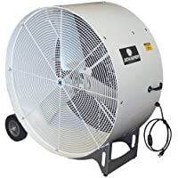 Versa-Kool VKM36-O Osha Compliant Spot Cooler Mobile Drum Fan