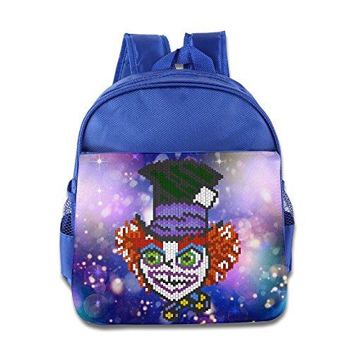 Mad Hatter Costume Images (Little Girls MaT Hatter Kids School Backpack RoyalBlue)