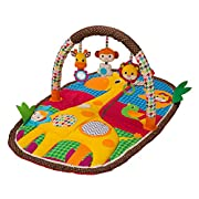 Infantino Take & Play Safari Activity Gym and Play Mat