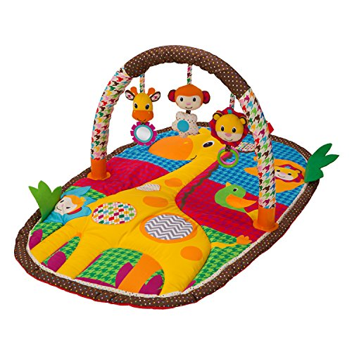 Infantino Playmat - Infantino Take & Play Safari Activity Gym and Play Mat