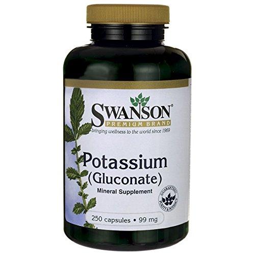 Swanson Potassium Gluconate 250 Caps