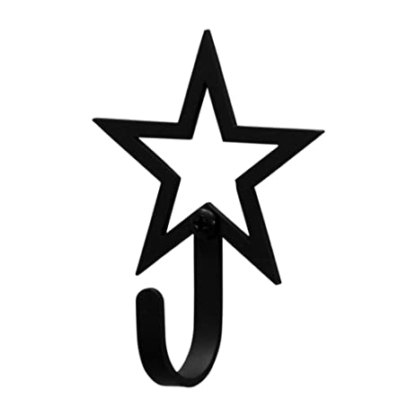 Amazon Iron Small Star Outline Decorative Wall Hook Small