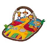 Infantino Take & Play Safari Activity Gym and Play Mat, Multicolor