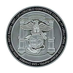 USMC MCRD San Diego Marine Corps Challenge Coin - Marine Graduation Gift from MVP Studios