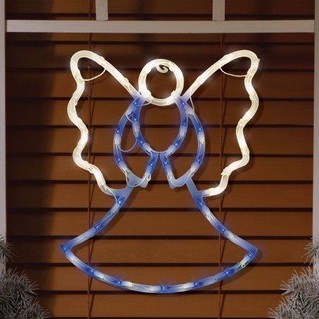 Holiday Time Christmas Decor Light Up Hanging Angel