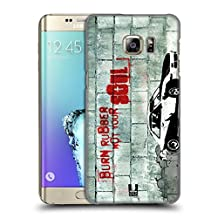 Head Case Designs Burning Rubber Christian Rider Hard Back Case for Samsung Galaxy S6 edge