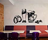 wall decals beer - beer wall decal pub wall sticker bar wall vinyl alcohol decal craft beer sticker ae896