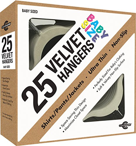 closet-complete-baby-size-ultra-thin-no-slip-velvet-hangers-ivory-set-of-25